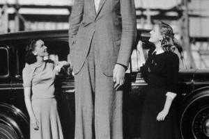 Robert, najvyšší muž na svete v histórii