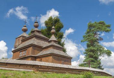 Artikulárny drevený kostol