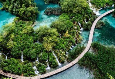 Chorvatsko UNESCO Plitvicke jazera