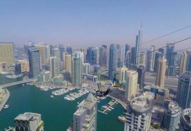 Dubai Xline lanová dráha